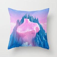 Mount Venus Throw Pillow