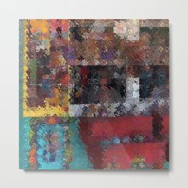Abstract Key West Metal Print