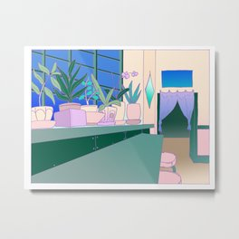 koko kitchen Metal Print