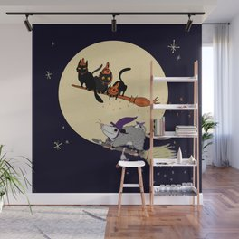 Witches' Familiars? Wall Mural
