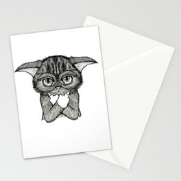 Cat personality Stationery Cards