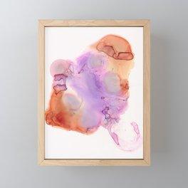 Stingray Ink Abstract Framed Mini Art Print