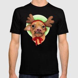 Chihuahua with antlers - Tuna T-shirt