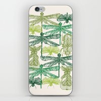 insects iPhone & iPod Skins featuring Insects by nkpappas
