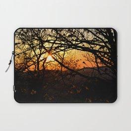 Sun through trees Laptop Sleeve