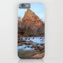 Virgin River Falls - Zion Court iPhone Case
