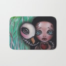 Never Alone Bath Mat