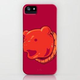 Bear prize iPhone Case