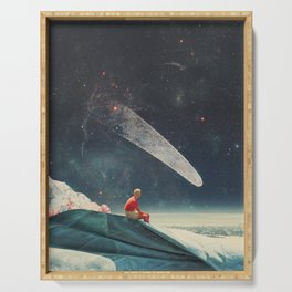 Guided by Comets Serving Tray