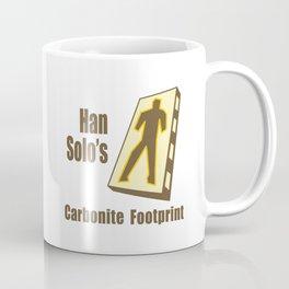 Carbonite Footprint Coffee Mug