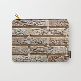 Brick wall texture Carry-All Pouch