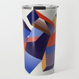 Geometric Painting by A. Mack Travel Mug