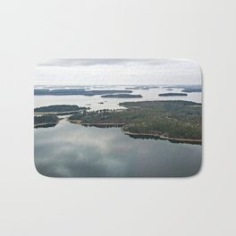 Late November archipelago Bath Mat