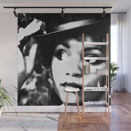 The Hatter II Wall Mural