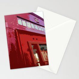 Telephone Box Close Up Stationery Cards