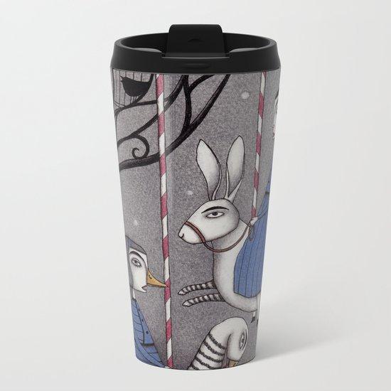 Merry-go-round Metal Travel Mug