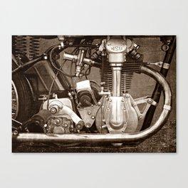 NSU Bullus SSR 350 Motor Canvas Print