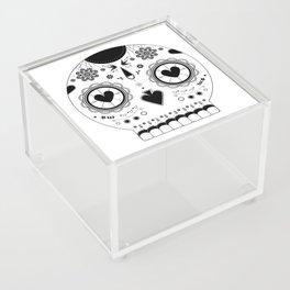 Candy skull Acrylic Box