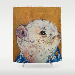 Little Piggy Shower Curtain