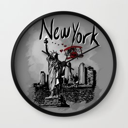 NewYork - Travel Serie Wall Clock