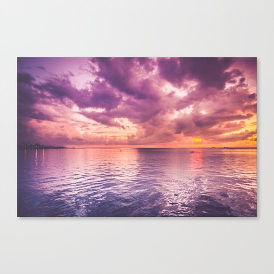 soul colour Canvas Print