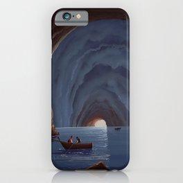 Grotta Azzurra - The Blue Grotto Capri Italia iPhone Case