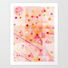 Candy Sorbet Art Print