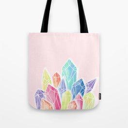 Crystals Pink Tote Bag