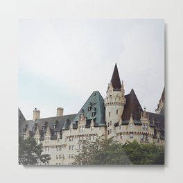 Chateau Laurier Metal Print