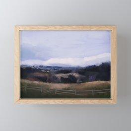 Roadside Framed Mini Art Print