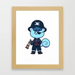 Pirate Squirrel treasure hunt pirates Gift Framed Art Print