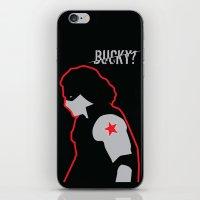 bucky iPhone & iPod Skins featuring Bucky? by ElectricShotgun