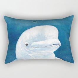 Beluga Blue Rectangular Pillow