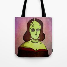Prophets of Fiction - Mary Shelley /Frankenstein Tote Bag