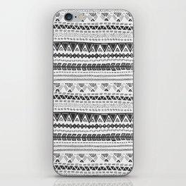 Dark aztec iPhone Skin