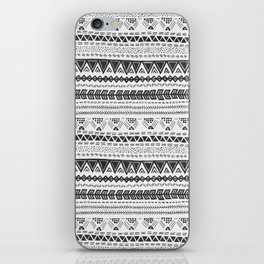 Dark aztec iPhone Skin