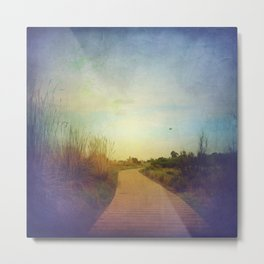 Pave the Way Metal Print