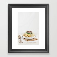Gofres Framed Art Print