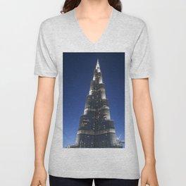 Burj Khalifa Unisex V-Neck