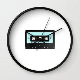 tape retro design Wall Clock