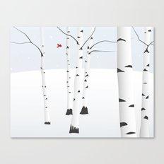 Birches Canvas Print