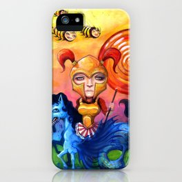The Candy Warrior iPhone Case