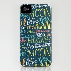 I LOVE YOU IN THE MORNING (color) iPhone (4, 4s) Slim Case