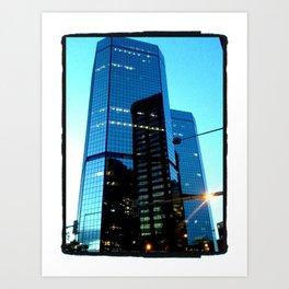 Downtown Denver Art Print