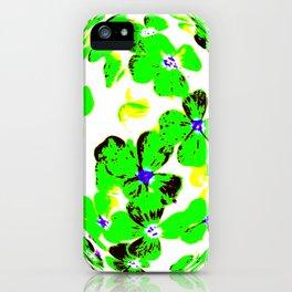 Floral Easter Egg iPhone Case