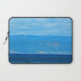 Coastal Windmill Park Laptop Sleeve