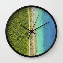 COZUMEL IS AWESOME BY JOSE LUIS POOL SIERRA Wall Clock