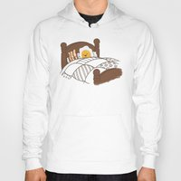 bed Hoodies featuring Breakfast In Bed  by Terry Fan