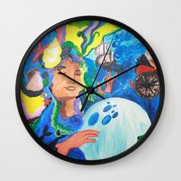 Ocean Gypsy Wall Clock