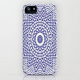 Helios (blue-white) iPhone Case